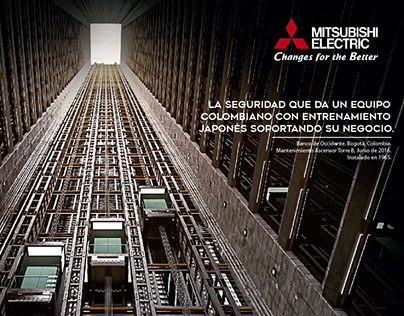 Mitsubishi Electric Colombia.