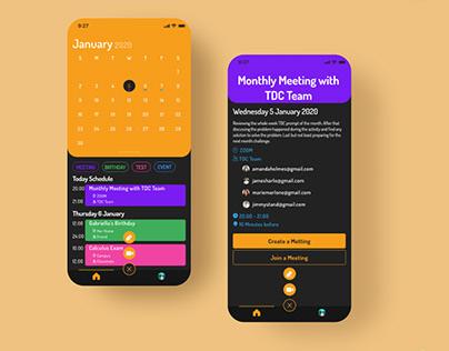 Calendar Meet - Calendar & Meeting in One App
