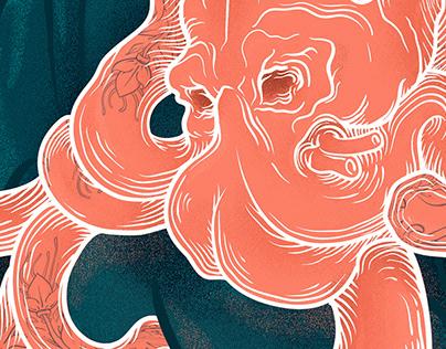 Før new music album Naive Waves & KARPOV illustration