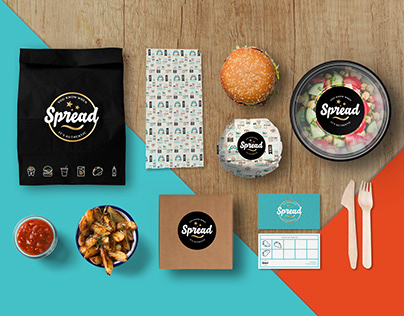 SPREAD - Fast food branding