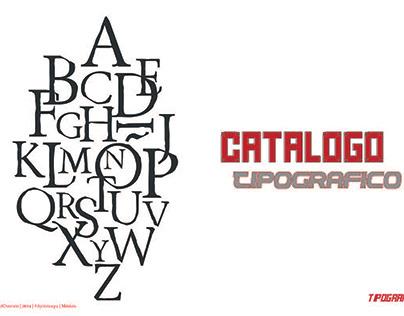 Catalogo Tipográfico de fuentes Editoriales y Display