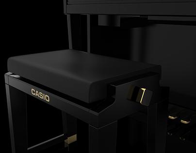 Piano Bench Casio Celviano GP-500
