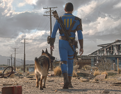 Fallout 4: the Wanderer Trailer Matte Painting