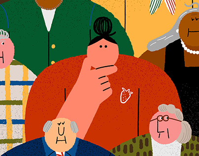 illustration for The New York Times