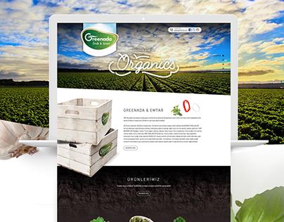 Greenada Emtar Tarım Ürünleri - Responsive Web Design