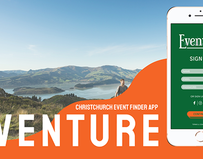 Eventure - Christchurch Event App