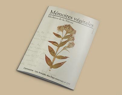 Mise en page dans le style Herbier