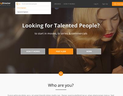 Casting Four Website