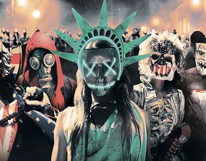 The purge title sequence