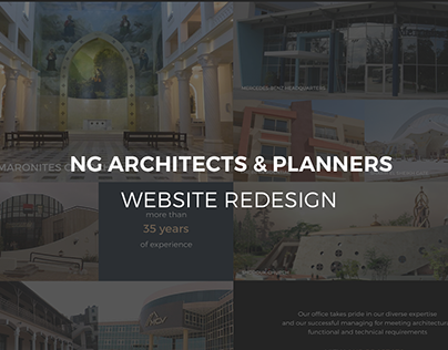 NG Architects | Website Redesign