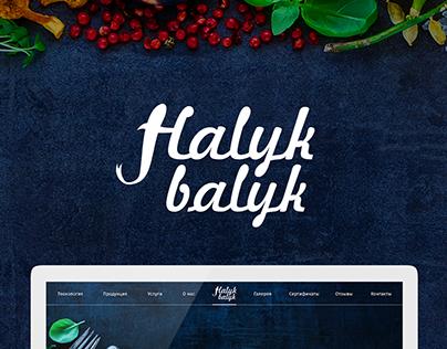 Halyk Balyk Landing Page