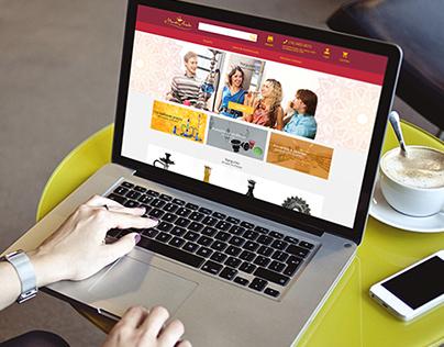 Mundo Árabe | Interface para E-commerce