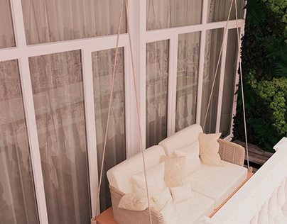 Дизайн интерьера для квартиры 136 м2