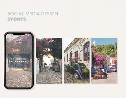 Social Media Design ⋆ Feed ⋆ Storys ⋆ Instagram