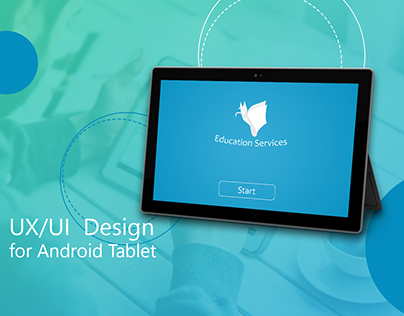 UX/ UI Android Tablet