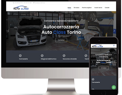 Auto Class Torino 🚘 - Sito web vetrina