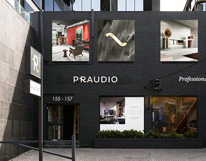PRAUDIO — Visual Identity