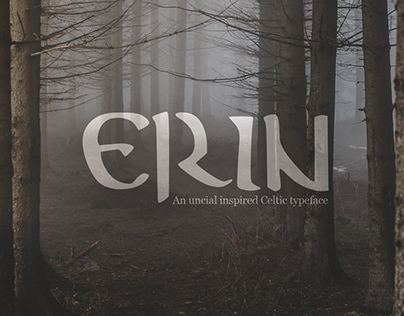 Erin, Custom Celtic Font