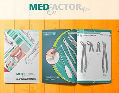 Catalogue Design | MEDFACTOR SURGICALS