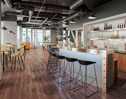 Wine Bar Office