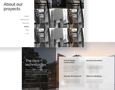 PXP Architecture Website