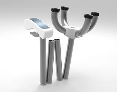 Relief Walking Stick - With Gripper Mechanism