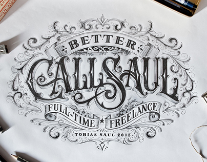 Hand-drawn Type Artworks 2015
