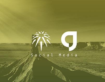 Saudi Travel Guide Agency - Social Media