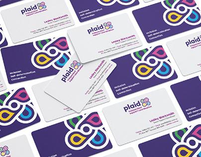PLAID ISC // Branding, Website