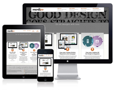 Mark & Co - Responsive web design