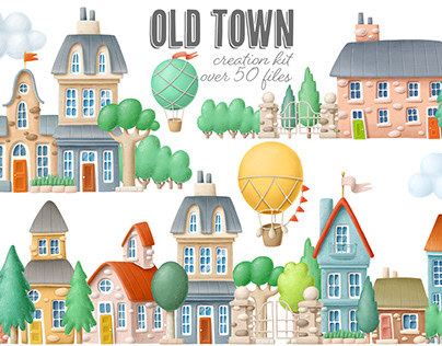 Old town creation kit