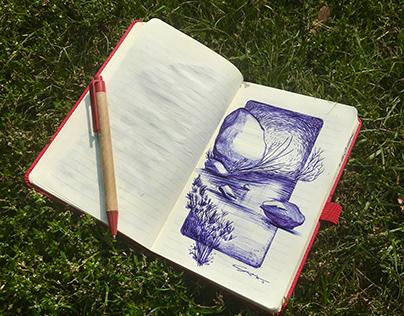 'Natural' Landscape Sketches