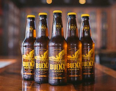 Buena Cerveza Brand & Packaging
