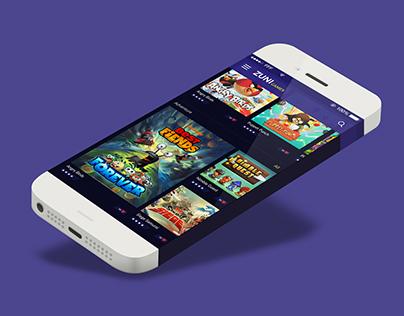 UI - Online Game Application