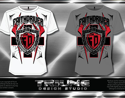 Faithdriver (Charged Life) TSHIRT DESIGN