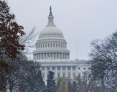 Winter in Washington, DC.