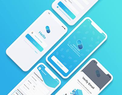 Drug Delivery Mobile App