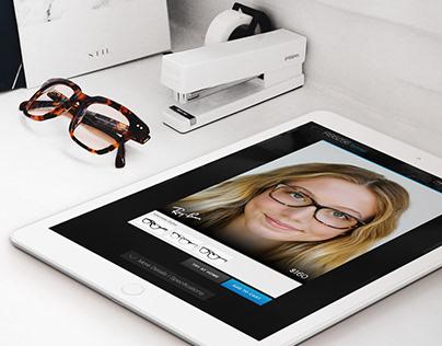 Glasses.com Virtual Try-on App