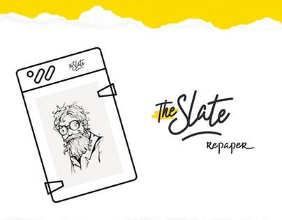 Vidéo de démo pour la nouvelle tablette Slate Repaper