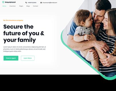 Insurance company web uI