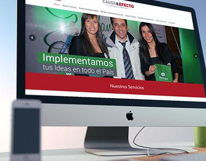 C&E- Diseño y desarrollo Web