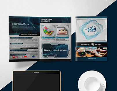 Toddy Gear Modern Welcome Kit Booklet