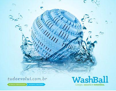 Campanha Lançamento Produto   WashBall Biocera