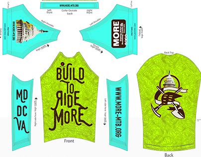 MORE Mountain Bike Jersey 2016