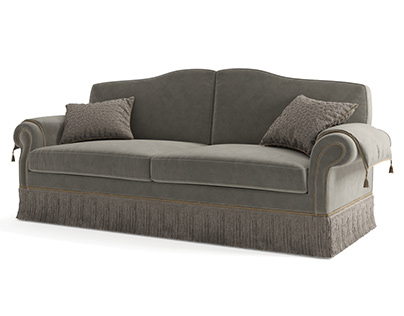 3D model of Treci Tasso sofa.