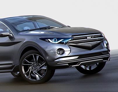 Design AGC SUV model
