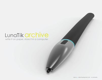 LunaTik Archive . Wear it. Write it. Store it.