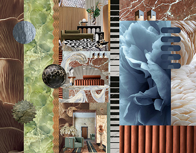 INTERIOR DESIGN COLLAGES