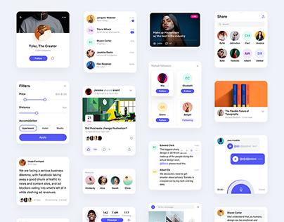 Social UI Kit