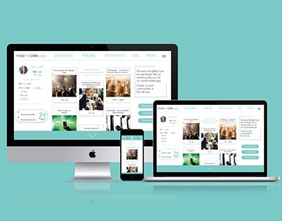 Design d'une app web - MadmoiZelle